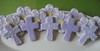 First Communion Cookies (Songbird Sweets) Tags: flowers purple crosses sugarcookies firstcommunion