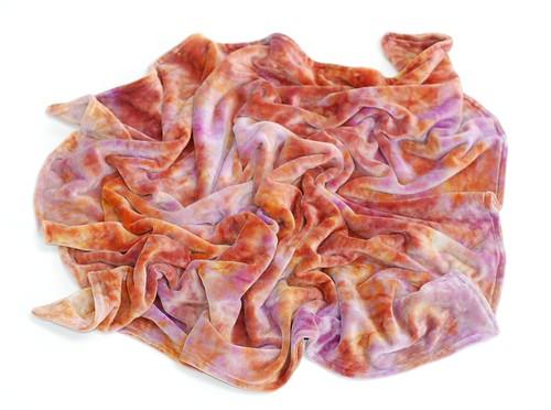 *Sari* LWI Dyed Snuggle Blanket (BV/BV) *Baby Sized*