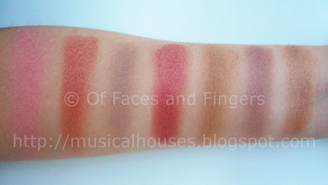 Glamorous 10 Color Blush Palette by BH Cosmetics #16