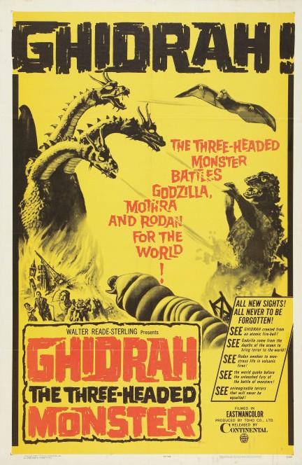 GhidrahThreeHeadedMonster1965