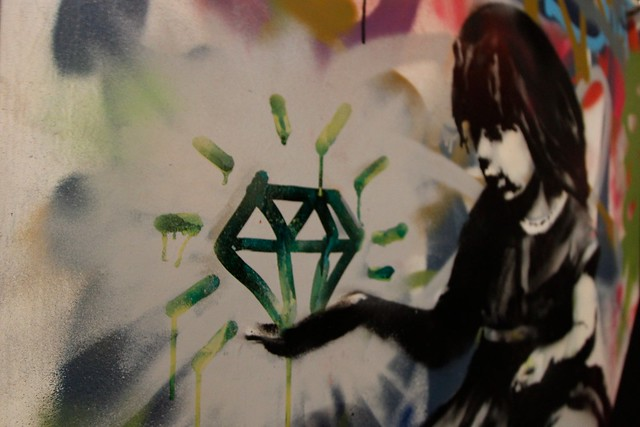 banksy diamond