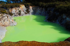 Devils Bath II (Misi a Fedo) Tags: park newzealand rotorua taupo volcanic geothermal waiotapu devilsbath