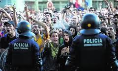Asedio al Parlament de Catalu?a