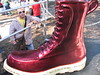 Sassy Red Chrome Boot, Saint Paul, Minnesota, August 2005, photo © 2005-2009 by Liz. All rights reserved.
