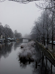The sound of silence (rackyross) Tags: snow holland netherlands amsterdam rio river canal quiet nieve neve channel olanda canale waterways tranquilidad quiete tranquillità