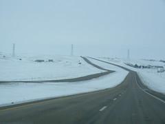 North Dakota (PostaL cm) Tags: trip snow green ice yellow john north johnathan agriculture bismarck dakota deere agricultural frederick washburn rdo