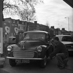 M.O.T. (ted.kozak) Tags: old london 6x6 film car square ne f28 120mm kiev88 80mm tadas kozak taip volna3 tedkozak taip2 taip5 taip7 taip10 taip3 taip4 taip6 taip8 taip9 fotofiltroauksas kazakevicius