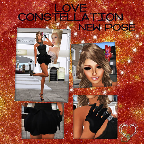 Love Constellation Pose