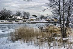Winter in Helsinki (Pexi from Helsinki Rock City) Tags: city winter sea snow ice suomi finland island coast frozen helsinki europe capital lumi talvi meri lunta eira j uunisaari saari pkaupunki europpa jtynyt jt