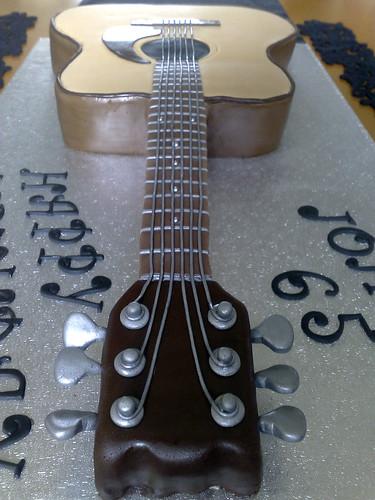 Acoustic.......(Guitar Cake)