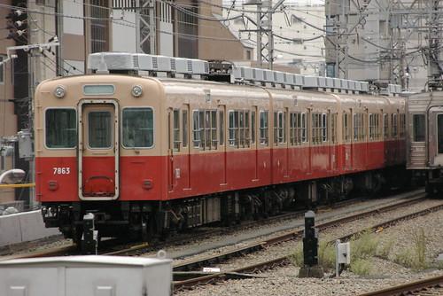 Hanshin7861series in Amagasaki(Hanshin),Amagasaki,Hyōgo,Japan 2008/10/05