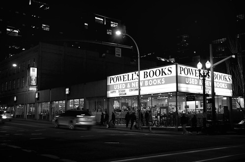 Powell's Books, 1005 West Burnside, Portland, Oregon