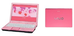 MY LAPTOP () Tags: pink japanese laptop sony vaio