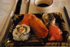 Leftover sushi (megbee) Tags: food leftovers sushibreakfast