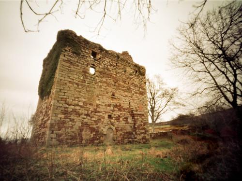 Fairlie castle Agfa Billy pinhole image 06Mar09