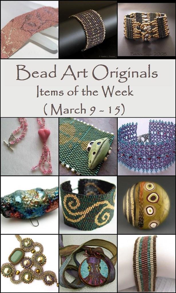 Bead Art Originals Items of the Week (3/9-3/15)