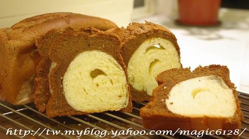 巧克力蛋糕白吐司