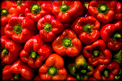 Red Hot (Lidia Camacho) Tags: barcelona chile red plants closeup fruit pepper cuisine stem bush berry market spice stock group vegetable stack cocina simplicity organic chilli preparation boqueria freshness healthyeating foodhorizontal