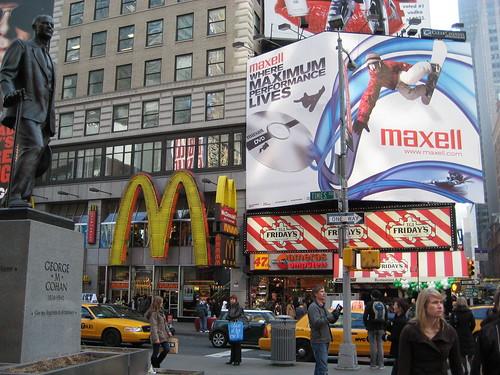 Times Square: McDonalds