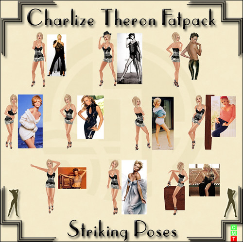 Charlize Theron Fatpack
