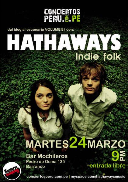 Hathaways Concierto Indie Rock Folk Lima Peru
