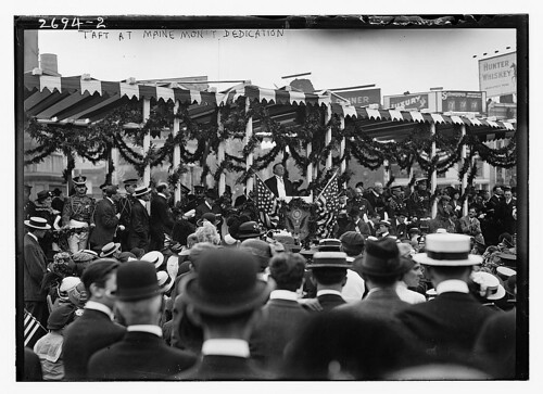 Taft at MAINE Monument dedication (LOC)