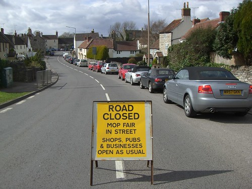Road Closed for Mop