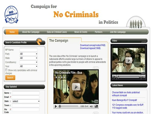 Campaign for No Criminals in Politics