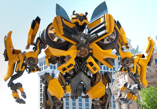 Bumblebee Transformers 2 espalda