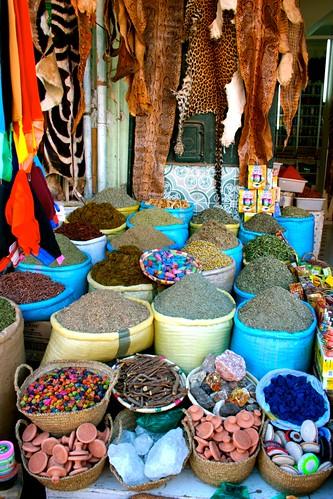 Spice market, Marrakech