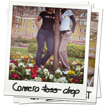 Tshirt Series - Camera Drop