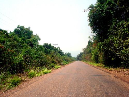 17.寮國的道路風光