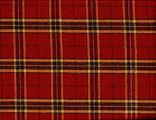 Red Wool Plaid