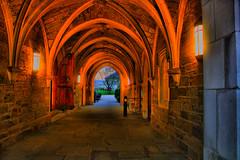 Hogwarts hallway (rakkasan69) Tags: west stone canon hall university hallway chester midevil hogwarts hdr jol xsi