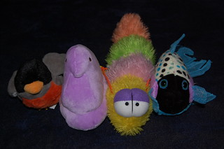 4 of some of my plush