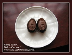 Happy Easter !!! (Agnieszka G.) Tags: friends easter chocolate wedel wielkanoc pascuas czekolada