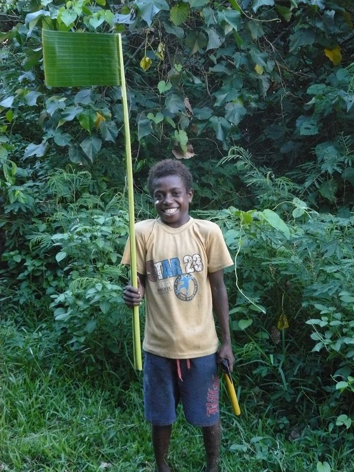 Vanuatu : Ile de Tanna #32 : enfant