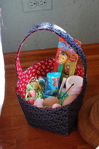 Cowboy Easter Basket - Filled