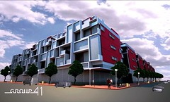 shipping container building design (by: Group 41)