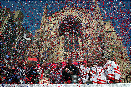 BU Hockey Parade