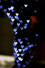 Love is all around . (goodbyebyesunday) Tags: blue white black tree love dark heart bokeh  canon85mmf18 inspiredbylove hbw twtme heartbokeh bokehwednesday happybokehwednesday bokehhearts tonyeccles boheklicious tony