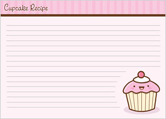 Cupcake Recipe Card - 2