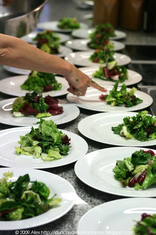 Preparazioene dei piatti