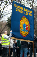 ICTU Demonstration in Dublin 21st February 2009 (markaotoole) Tags: dublin workers protest demonstration impact government strike siptu publicsector ictu publicservants pensionlevy