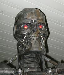 Terminator Salvation (karen in toronto) Tags: toronto ontario skull terminator 2009 t600 endoskeleton yongeandbloor terminatorsalvation terminatorsalvationmovie