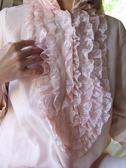 Eve Stillman Silk & Nylon Lace Ruffled Poet Nightshirt 8 (mondas66) Tags: ruffles lace silk poet boudoir nightshirt nylon nightgown frilly nightdress ruffle frills frill ruffled nightie frilled evestillman frilling frillings befrilled