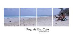 Collage de playa (ristardi) Tags: travel viaje sea naturaleza beach nature america canon landscape eos mar amrica havana cuba paisaje habana playas atlntico lahabana