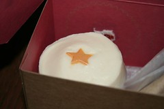 Sprinkles cupcake with Oscar Star!
