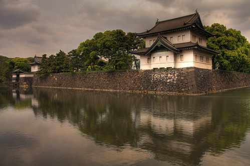 Watch Tower at the Imperial Palace in Tokyo