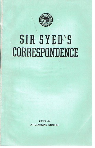Sir Syed - Correspondence